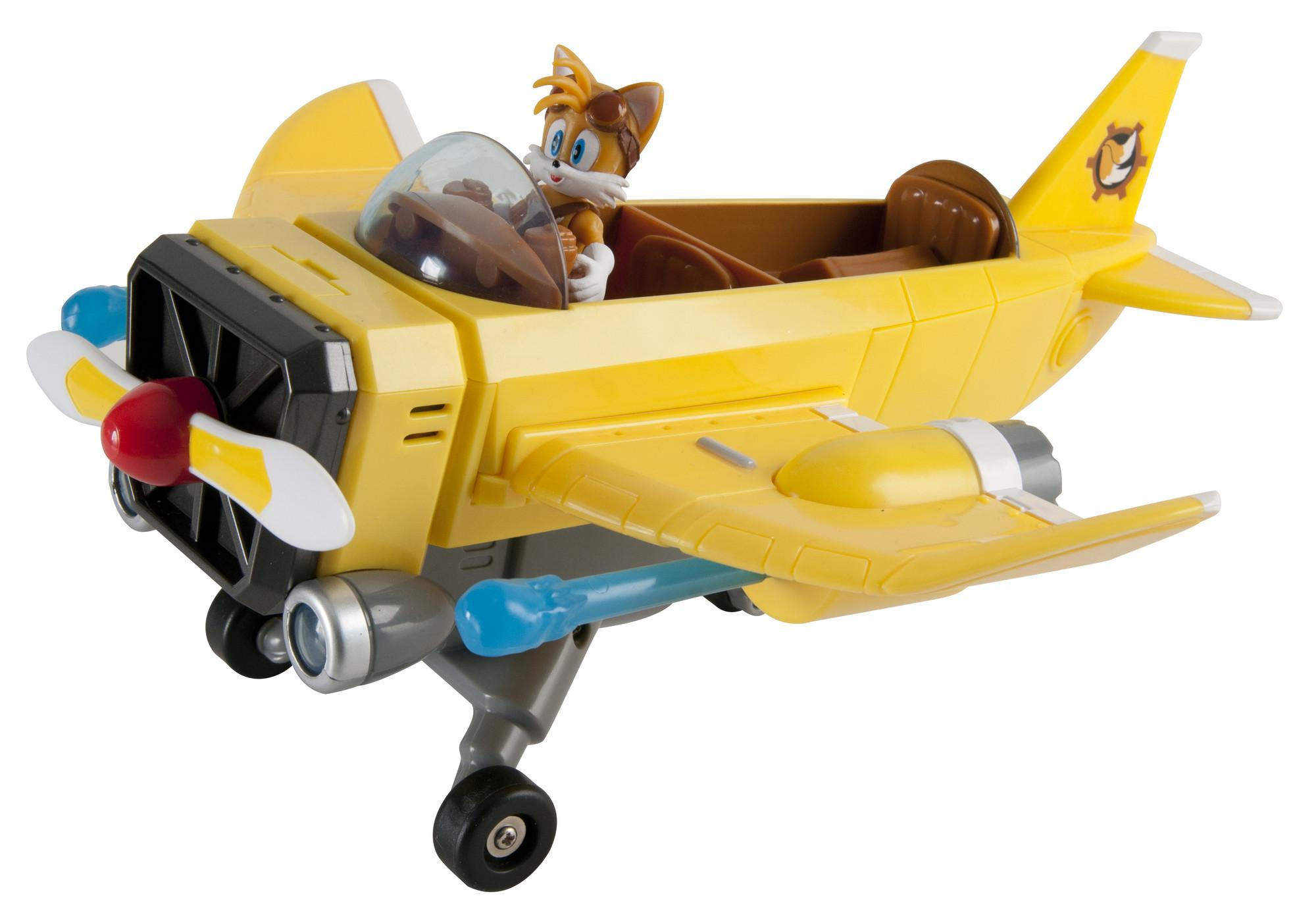 Amazon.com: Sonic Boom Tails' Plane: Toys & Games