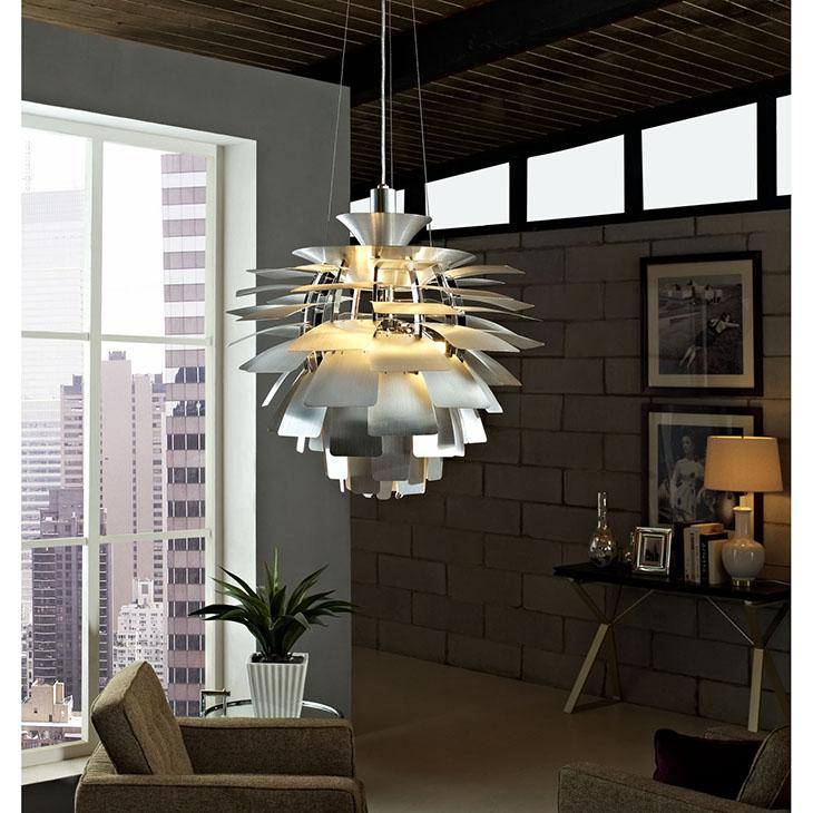 Amazon modway 31 12 artichoke style chandelier modern lamp in view larger aloadofball Image collections