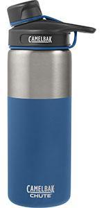 chute vacuum, 20 oz, water bottle, steel