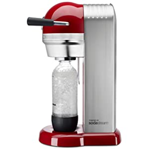 Amazon.com: KitchenAid KSS3121ER Sparkling Beverage Maker powered by SodaStream - Empire Red ...