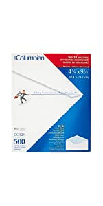 Columbian, standard, window, tinted, executive, envelope