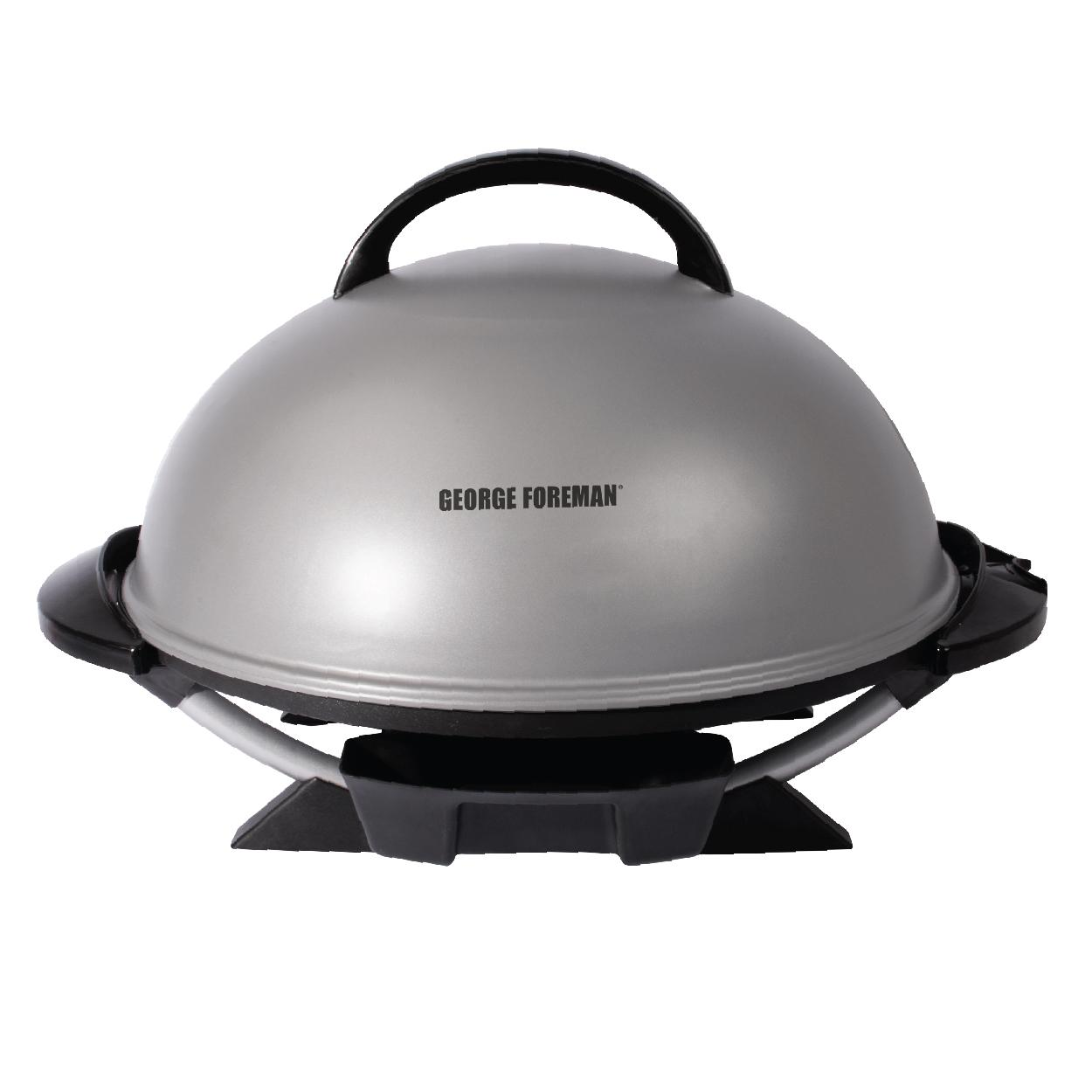 George foreman gfo240s indoor outdoor electric grill silver kitchen dining - Buy george foreman grill ...