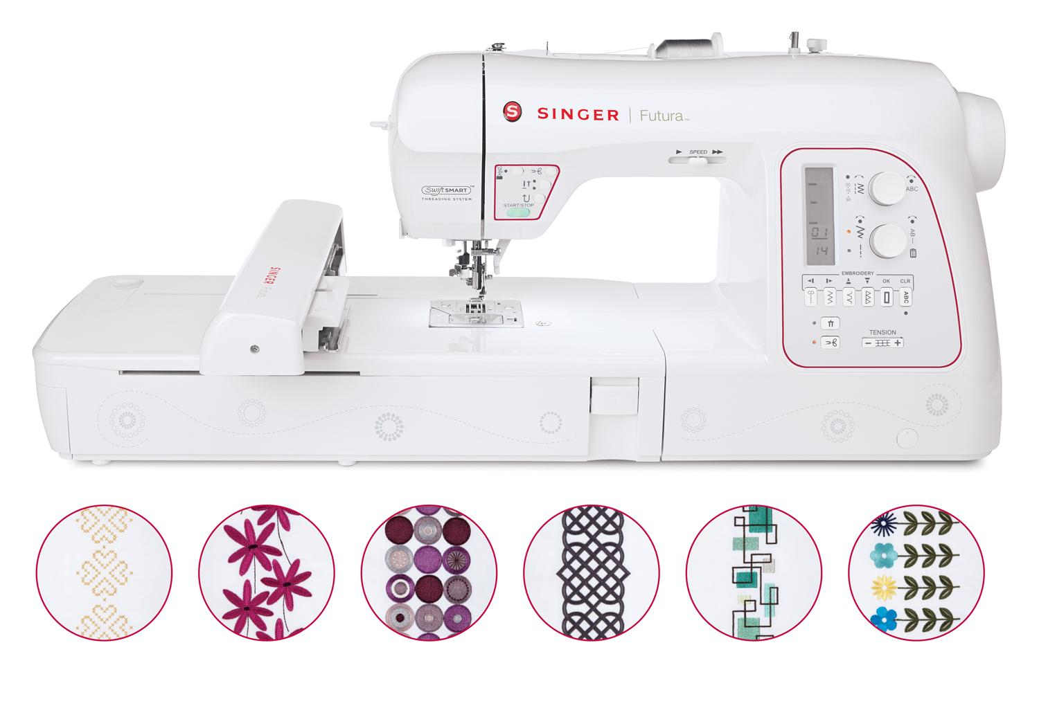 Amazon singer xl futura embroidery and sewing