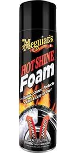 Hot Shine Tire Foam