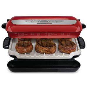 George foreman grp4800r multi plate evolve grill ceramic for George foreman grill fish