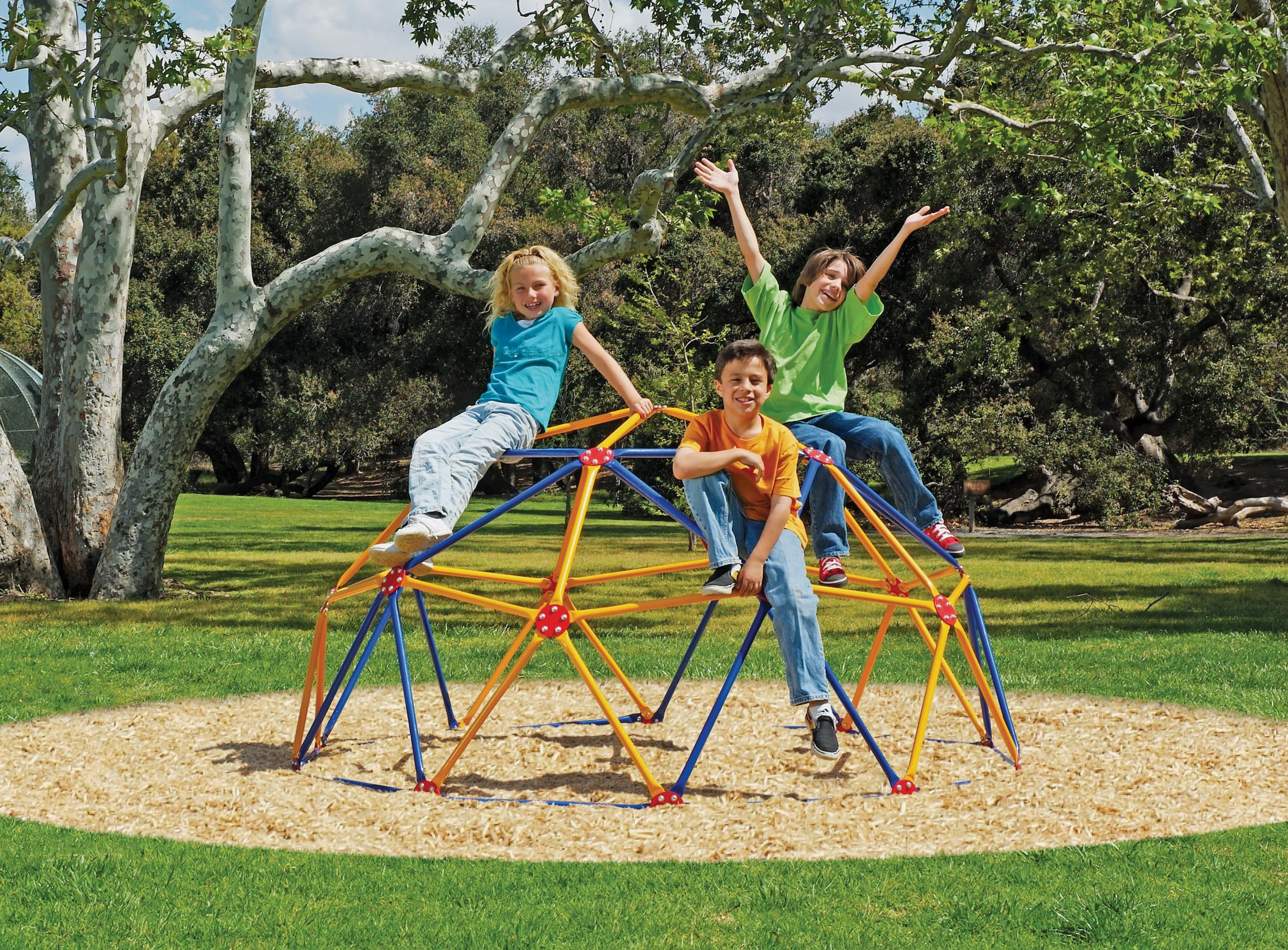 Amazon Easy Outdoor Space Dome Climber – Rust and UV