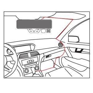 amazon falcon zero f360 hd dvr dual dash cam rear view mirror Pioneer Radio with Backup Camera Wiring no more dangling wires