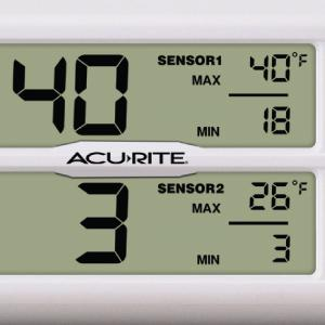 fridge thermometers, freezer thermometers