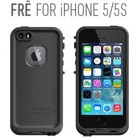 Amazon.com  LifeProof Fre Waterproof Case for iPhone 5 - Lime Black ... 2c28d33f6