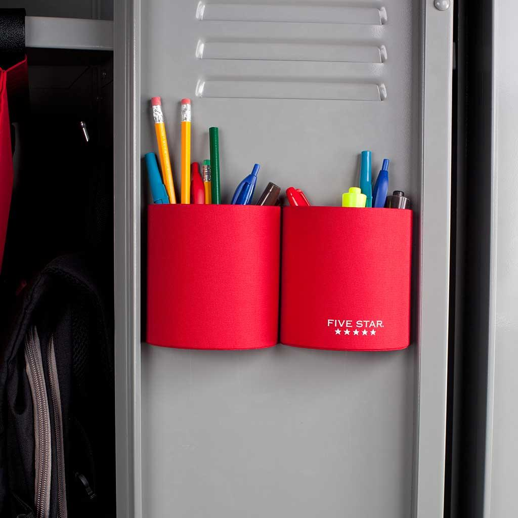 amazon com five star locker accessories magnetic pencil cup rh amazon com  magnetic baskets for lockers