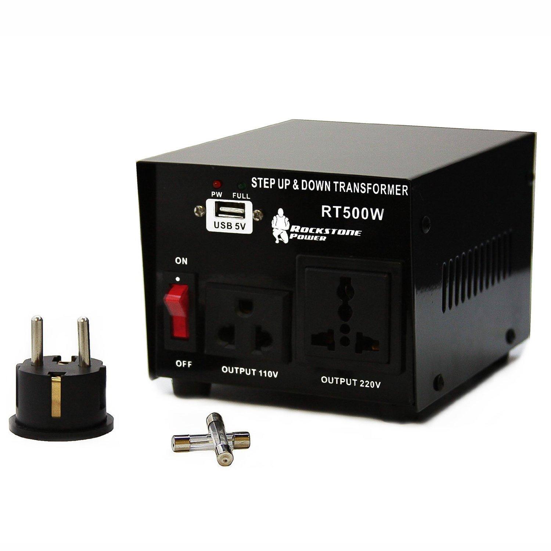 amazon com rockstone power 500 watt heavy duty step up 220v fuse box 220v fuse box 220v fuse box 220v fuse box