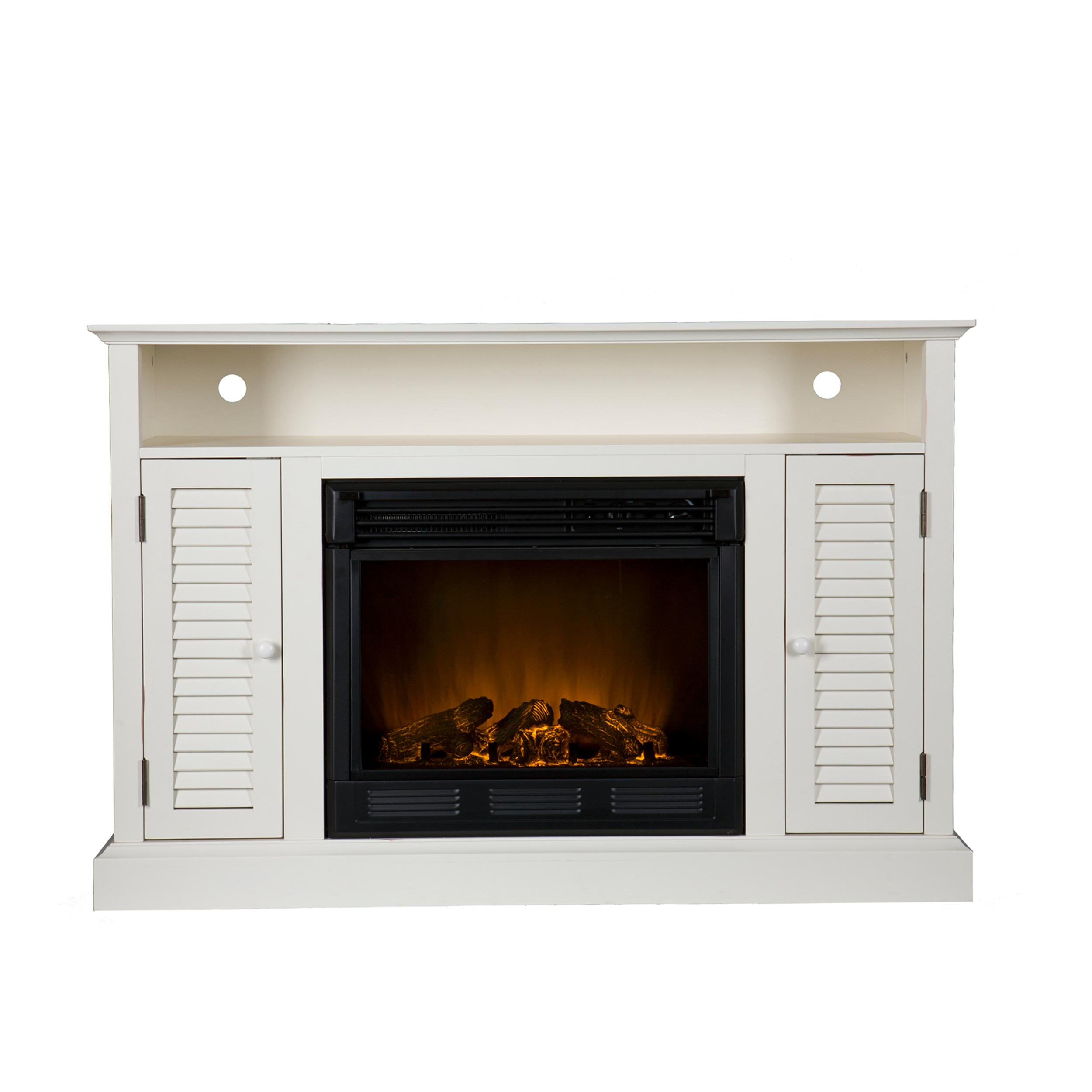 Venice Wall Hanging Electric Fireplace With Digital Led Display