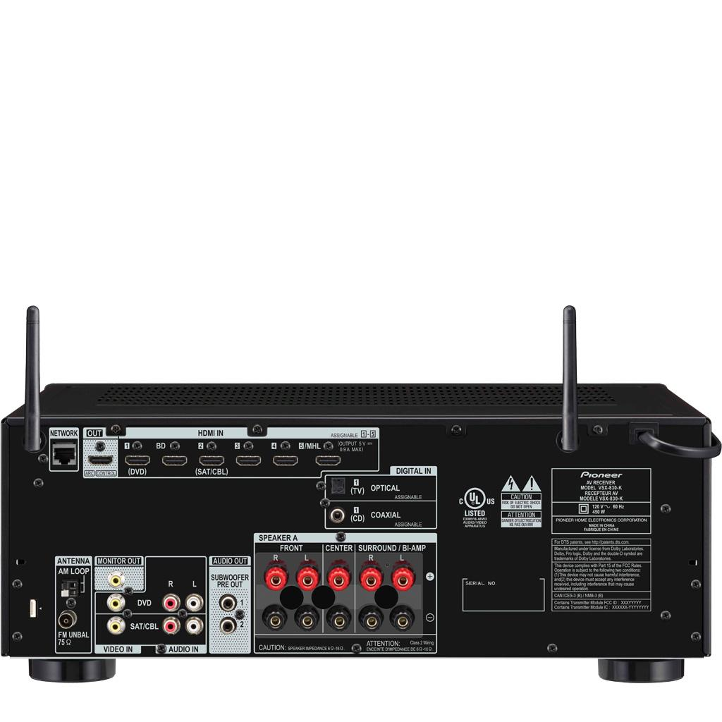 Pioneer VSX-1130-K A/V Receiver Drivers Download