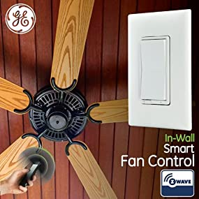 Ge z wave wireless smart fan speed control 3 speed in wall take control of your home lighting with ge z wave smart lighting controls aloadofball Choice Image