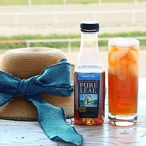 Pure leaf sweet tea iced tea