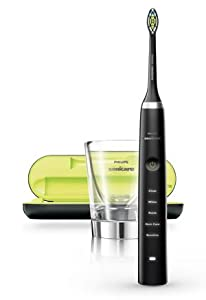 Philips Sonicare DiamondClean, electric toothbrush, rechargeable toothbrush, black toothbrush