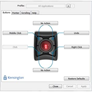 TrackballWorks Customization