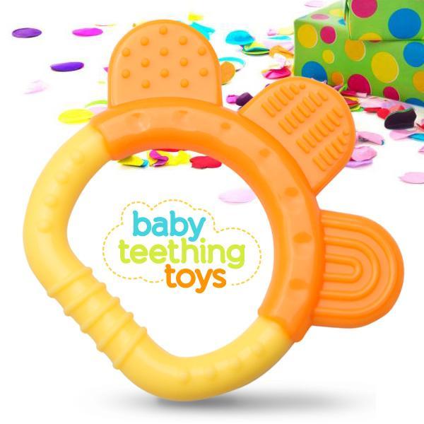 Safe Baby Toys : Amazon silicone baby teething toys pack bpa free