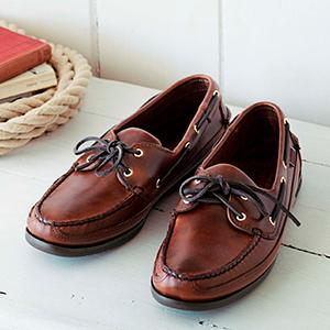 Sebago SCHOONER - Boat shoes - brown 5jg8oz