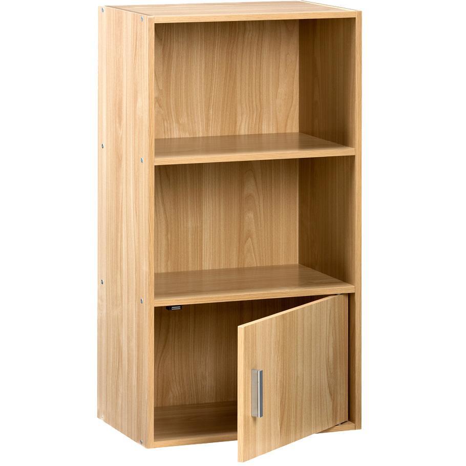 Amazon Com Comfort Products Small Modern Bookshelf Oak