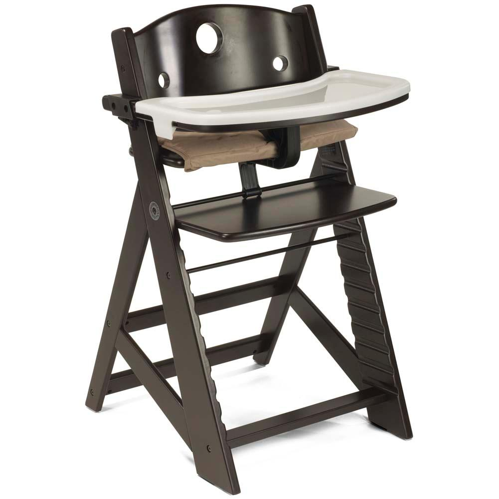 amazon com keekaroo height right high chair with tray natural
