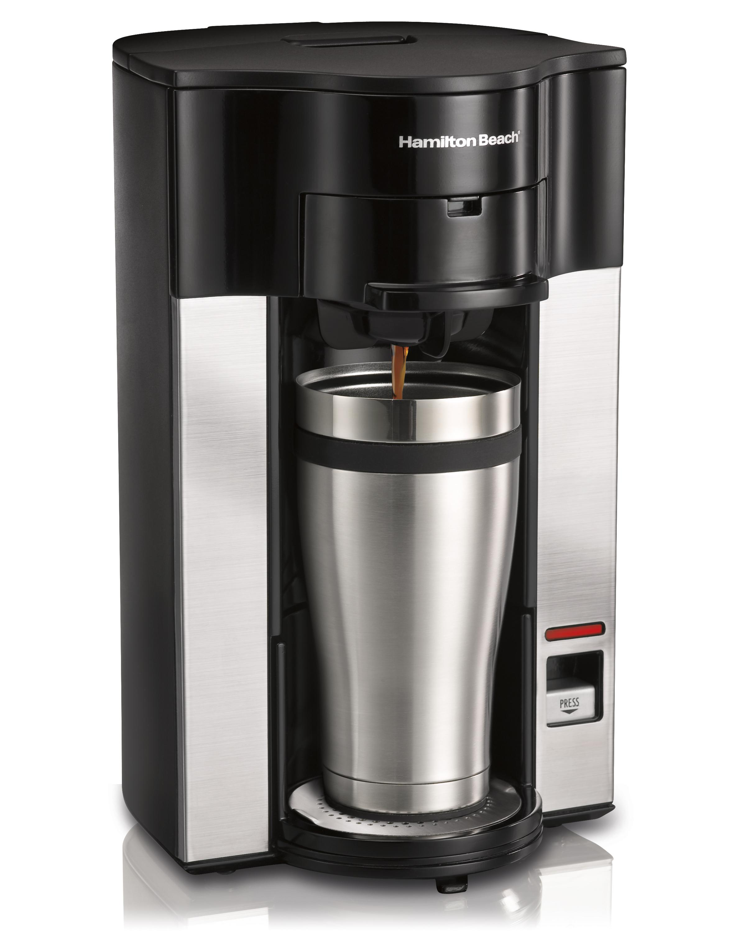 Coffee Maker For One : Amazon.com: Hamilton Beach Stay or Go Personal Cup Pod Coffee Maker 49990Z: Single Serve Brewing ...