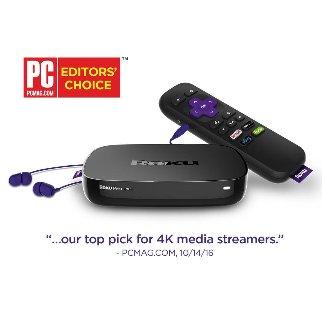 Amazon Com Roku Premiere Hd And 4k Uhd Streaming Media