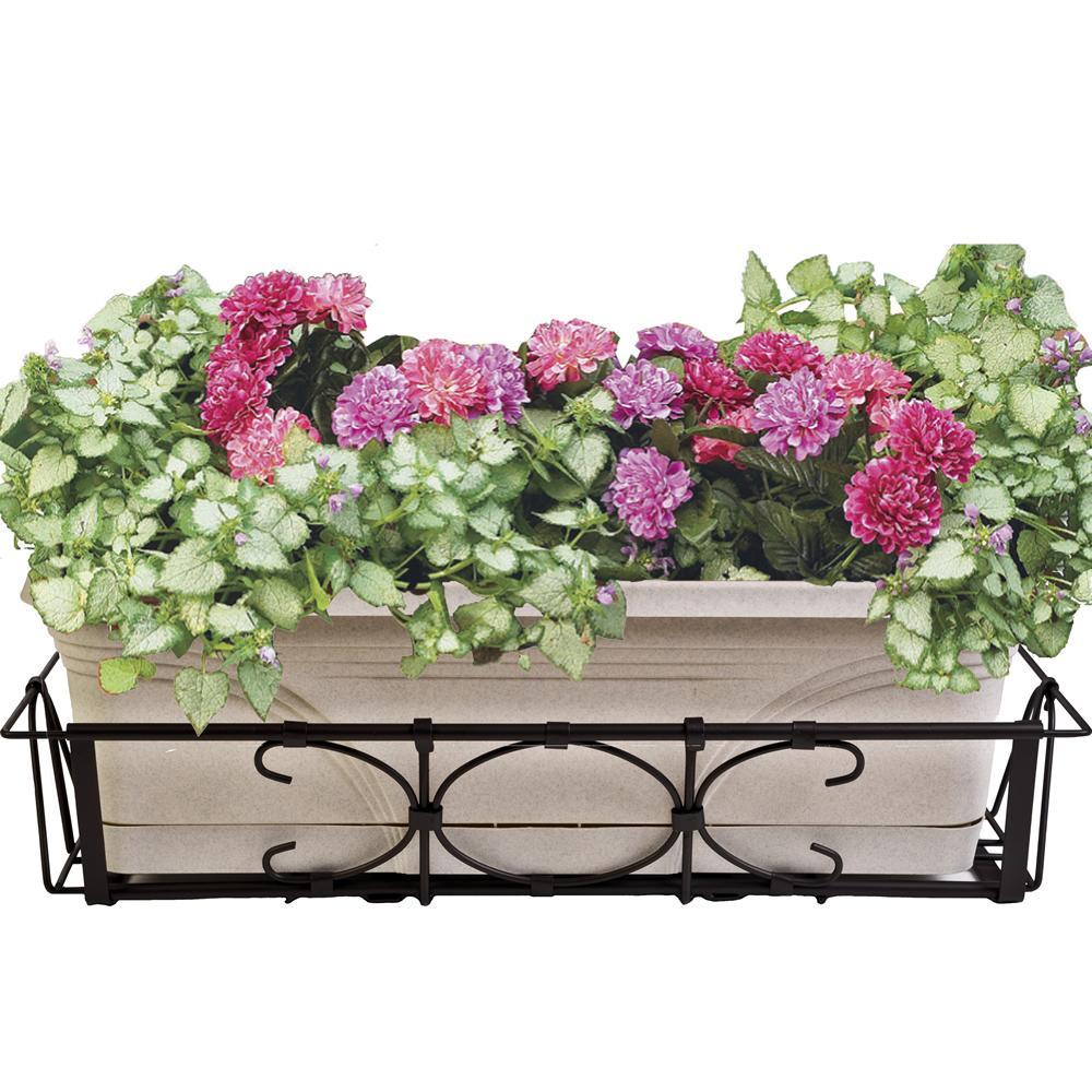 Deck Flower Box: Amazon.com : CobraCo Kingston Adjustable And Expandable