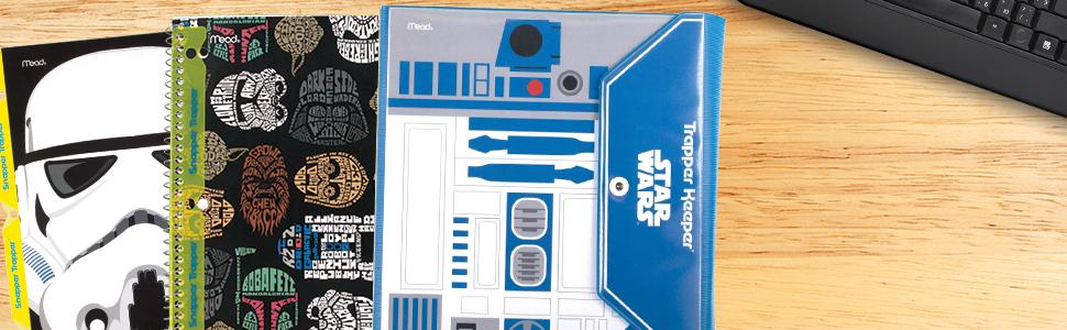 Amazoncom Star Wars Trapper Keeper 15 Inch Binder By Mead 3