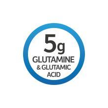 5 grams glutamine and glutamic acid