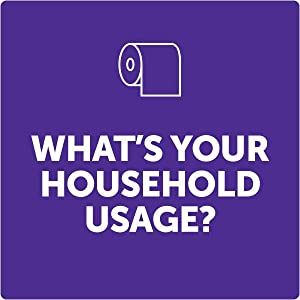 How many toilet tissue rolls does an average family use? Find out, take the quiz at scottbrand.com