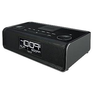 ihome ibn43bc bluetooth stereo dual alarm fm clock radio and spea. Black Bedroom Furniture Sets. Home Design Ideas