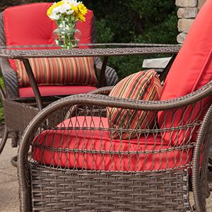 Amazon Com La Z Boy Outdoor Bristol Resin Wicker Bistro