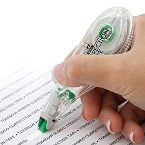 how to use bic wite out correction tape