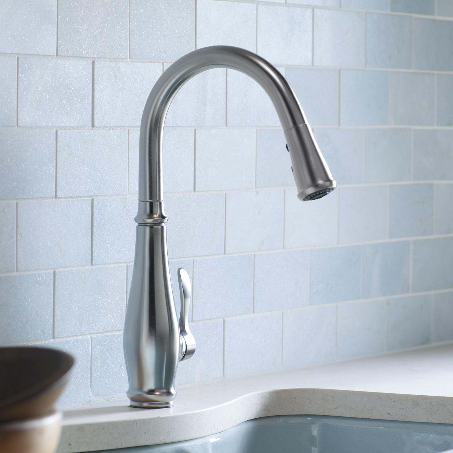 the kohler kitchen to touch best faucet carroll brenda hands free according faucets