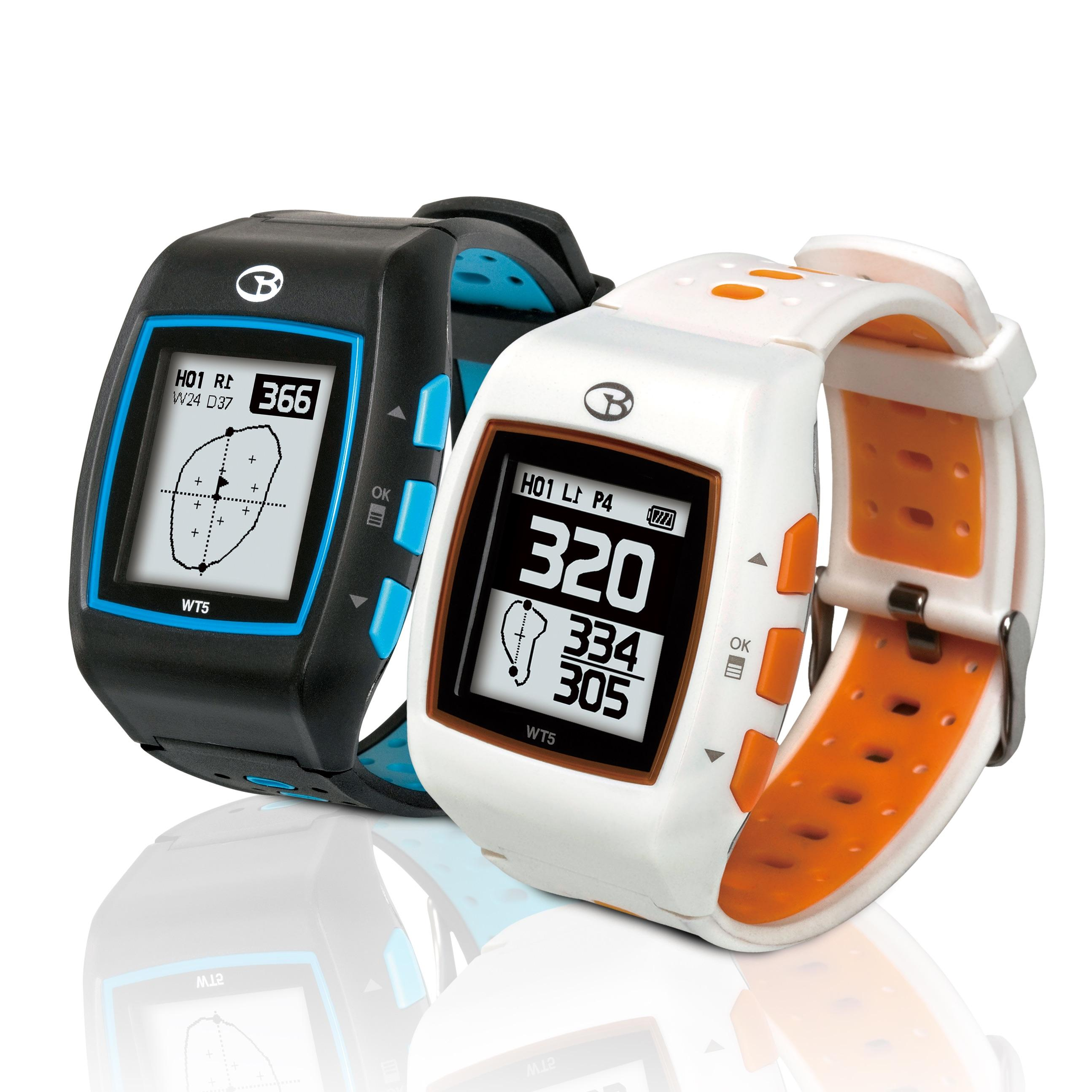 golfbuddy wt5 golf gps watch black blue sports outdoors. Black Bedroom Furniture Sets. Home Design Ideas