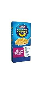 Kraft Three Cheesy Macaroni & Cheese