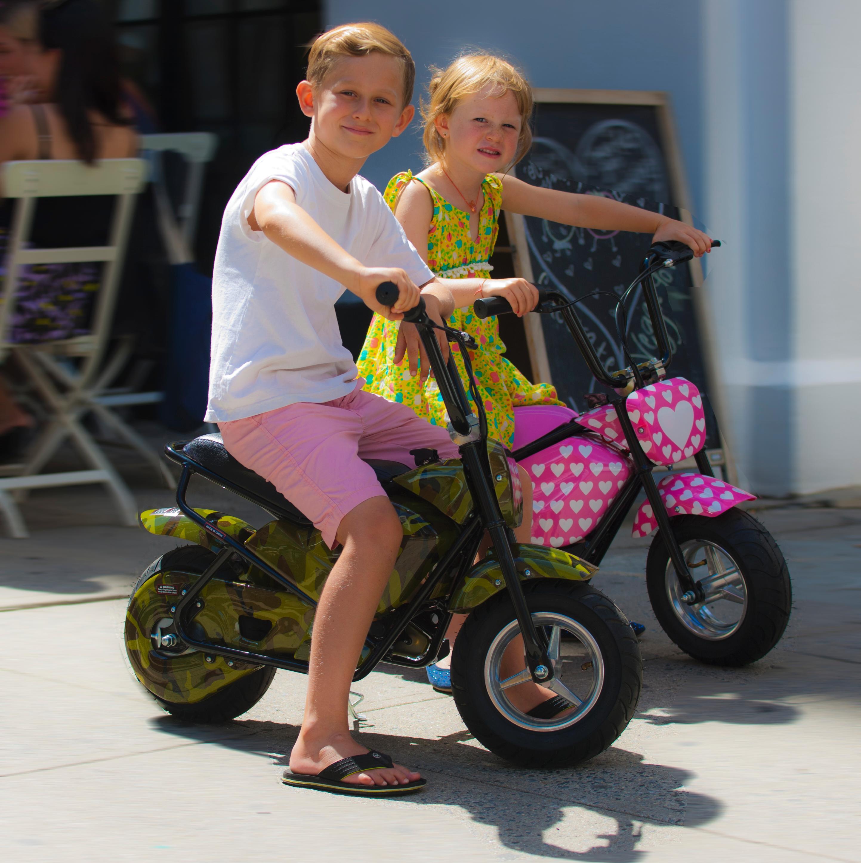 Amazon.com : Jetson Electric Bikes Junior E-Bike, Flames, 15-Inch