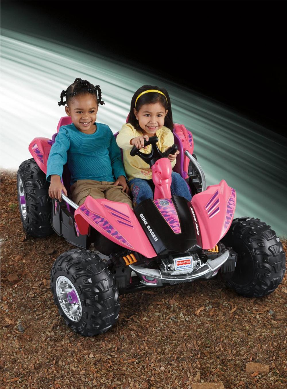 Amazon.com: Power Wheels Dune Racer, Pink/Purple: Toys & Games