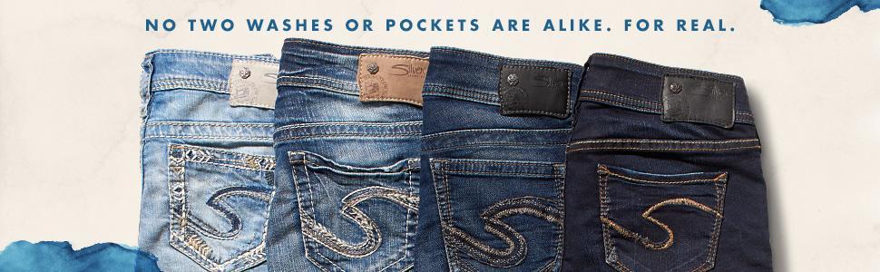Amazon.com: Silver Jeans Women&39s Plus-Size Suki Mid Slim Bootcut