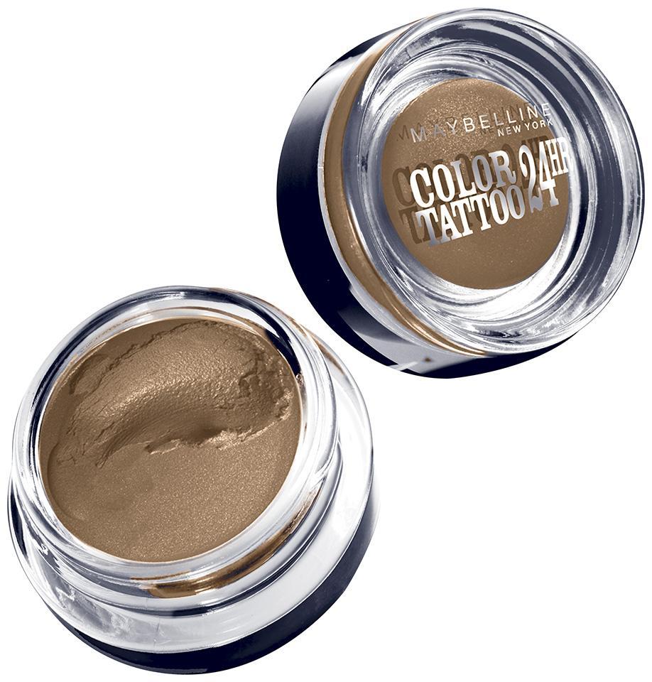 Maybelline New York Eyestudio Colortattoo Metal 24hr Cream Gel Eyeshadow Fierce And Tangy 014 Ounce 1 Count