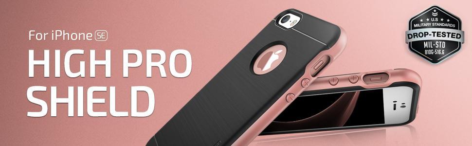 iPhone SE Case, VRS Design High Pro Shield Series