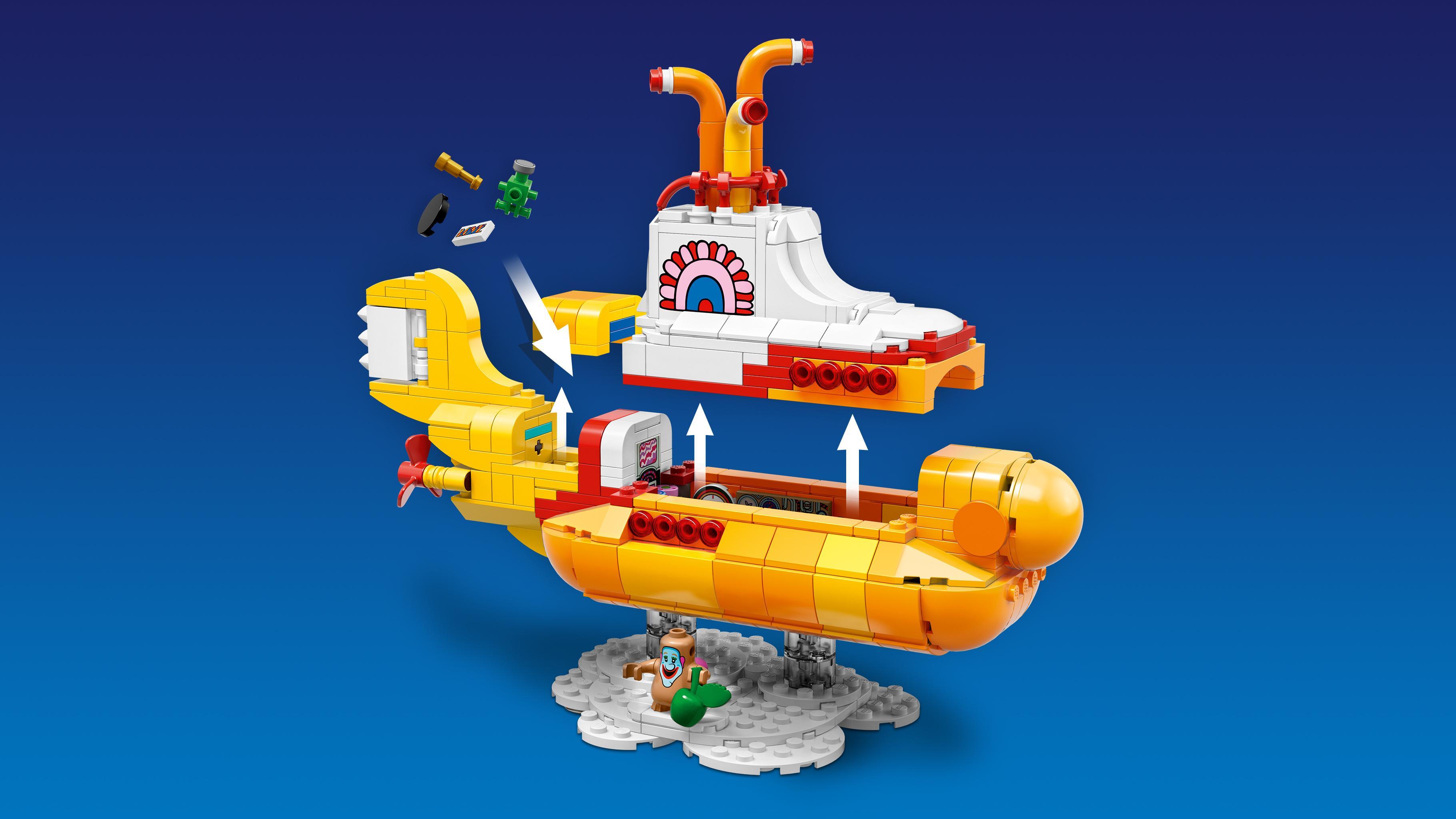 Amazon.com: LEGO Ideas 21306 Yellow Submarine Building Kit ...