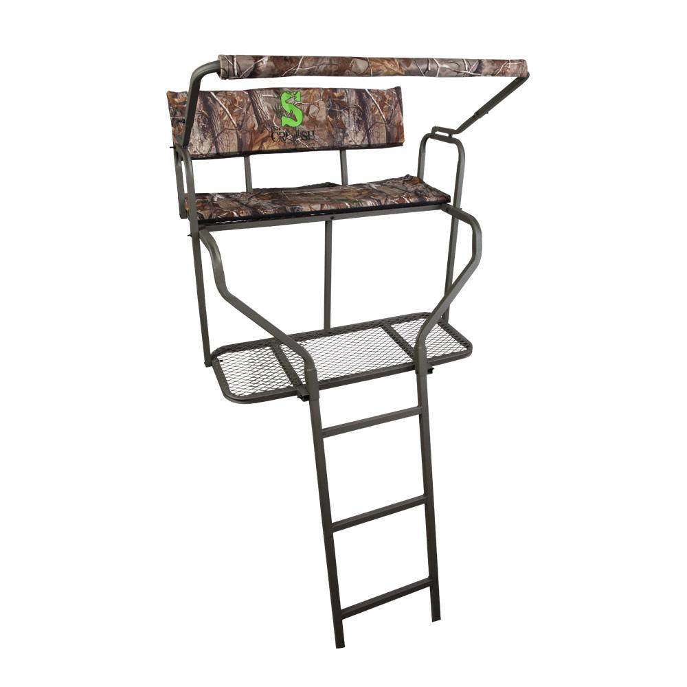 Amazon Com Summit Dual Performer Ladder Stand Hunting