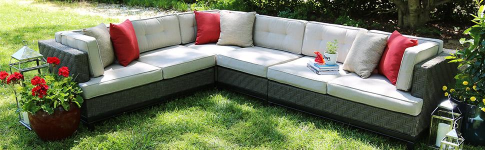 Camilla 4pc Sectional