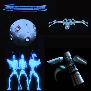 Amazon Com Star Wars Science Force Trainer Ii Brain