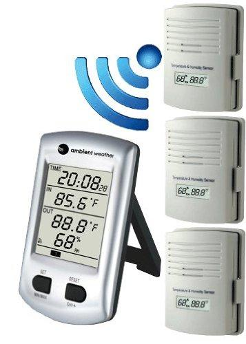 Amazon.com: Ambient Weather WH2C Wireless Thermo