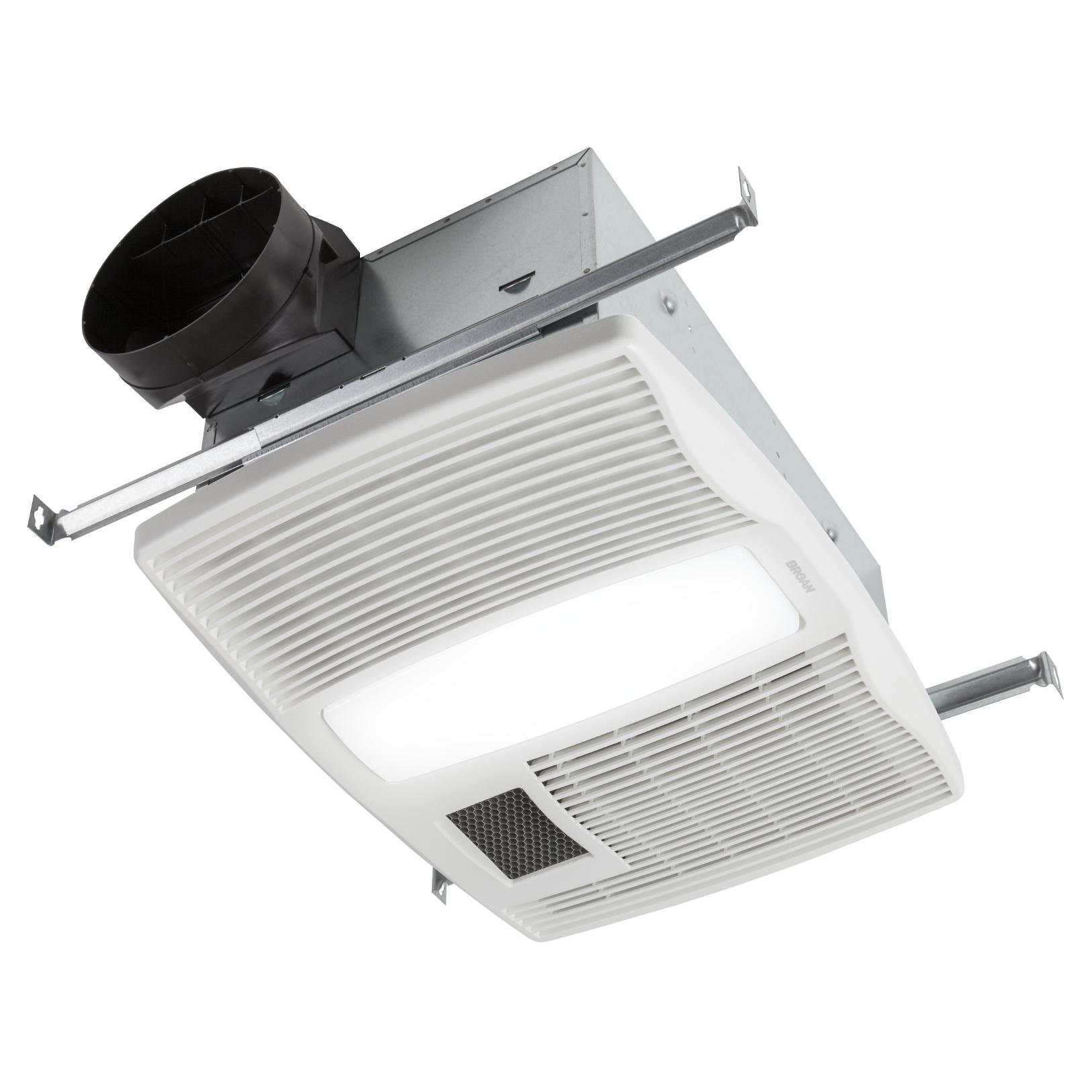 Broan qtx110hl ultra silent series bath fan with heater and light view larger aloadofball Image collections