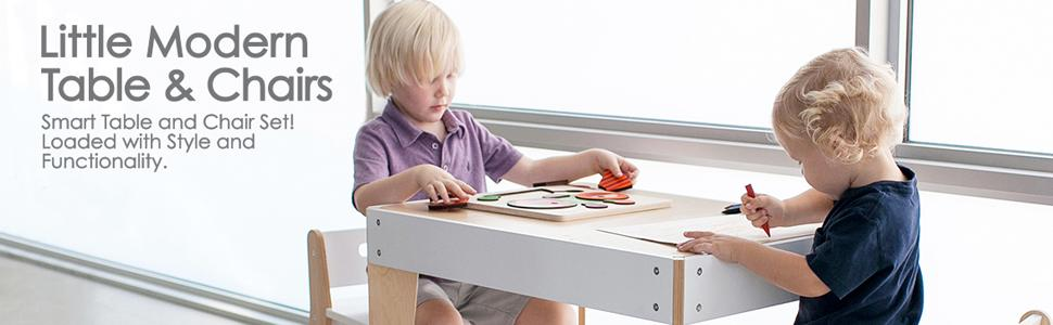 Marvelous Pkolino Little Modern And Table Chairs Creativecarmelina Interior Chair Design Creativecarmelinacom