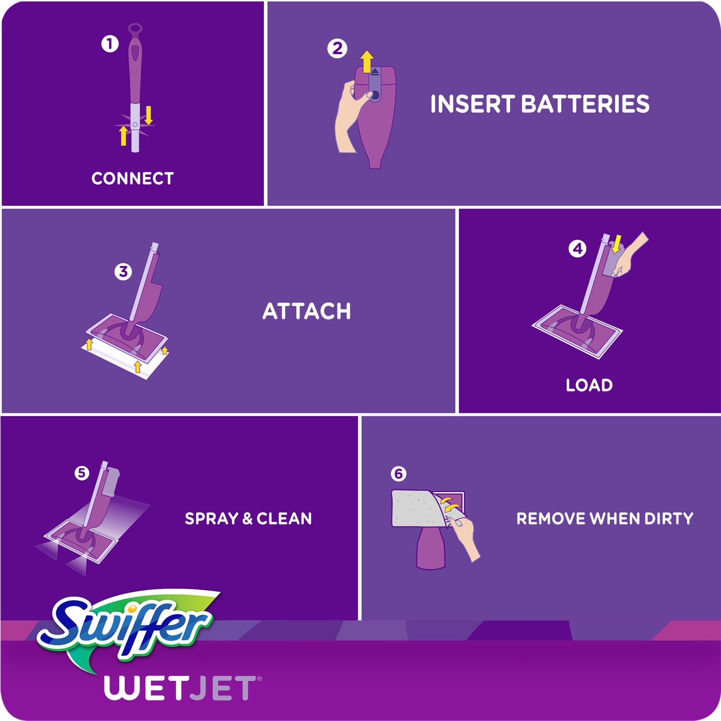Swiffer Wetjet Spray Mop Cleaner Starter Tiendamia Com